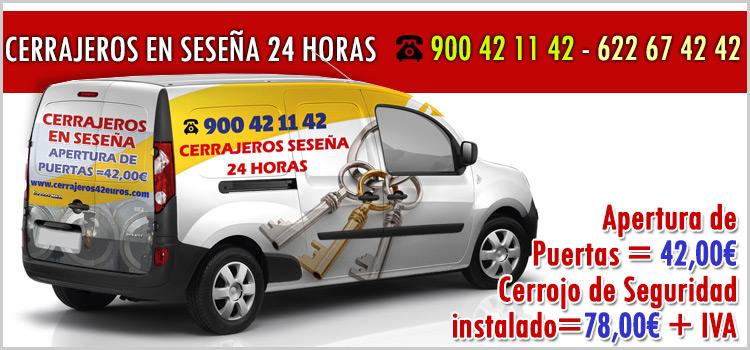 cerrajeros en Seseña 24 horas