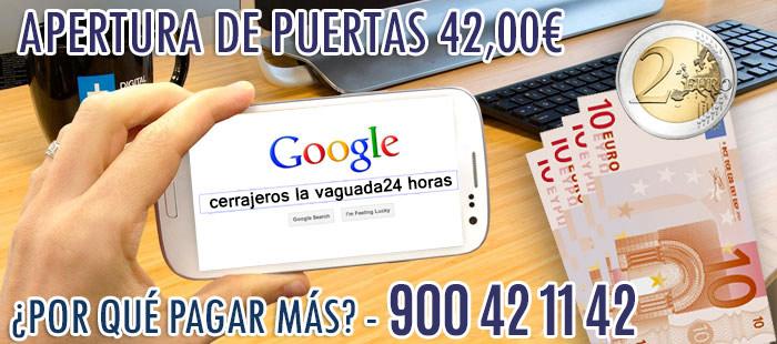 cerrajeros La Vaguada 24 horas